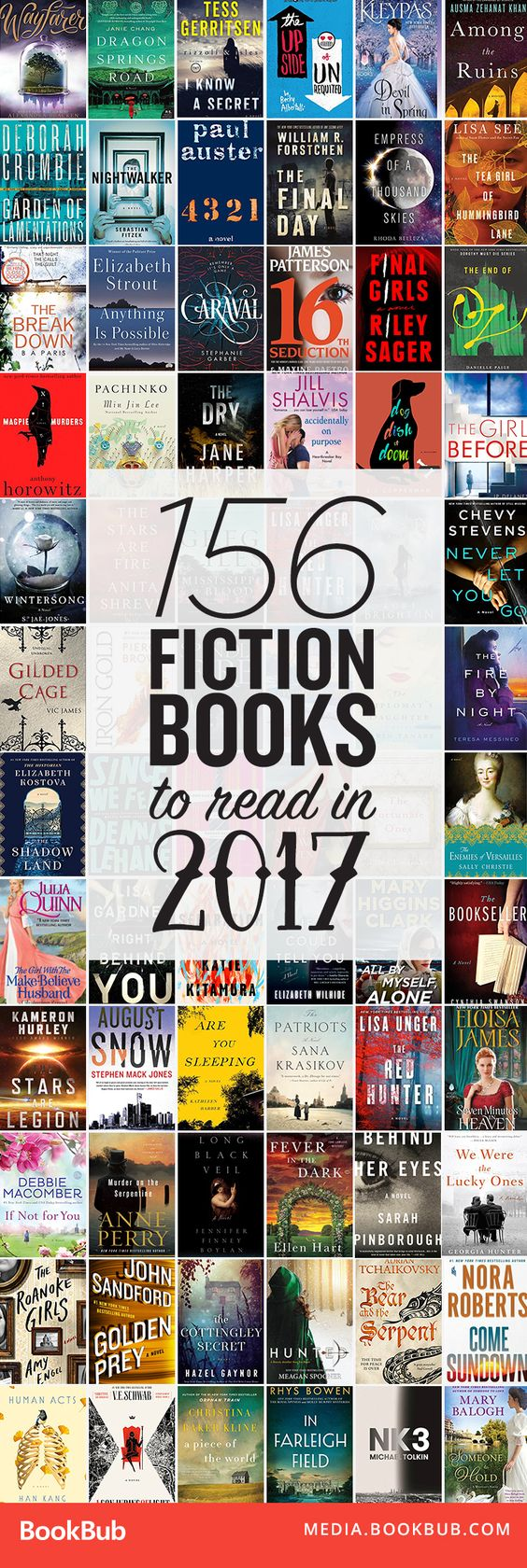 156 awesome books to read in 2017. Add all of these to your 2017 reading list!: