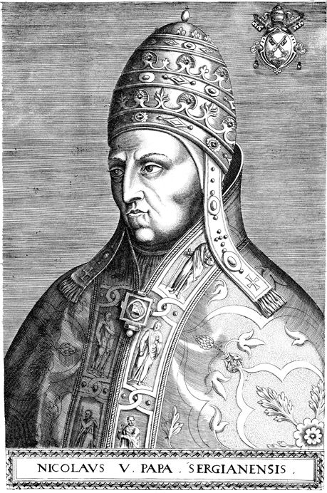 """So the Africans were responsible for the enslavement of other Africans? Or, was it the Pope who authorized the enslavement of West Africans. Pope Nicholas V issued the papal bull Dum Diversas on 18 June, 1452. It authorized Alfonso V of Portugal to reduce any """"Saracens (Muslims/Moors) and pagans (An advanced person without a religion) and any other unbelievers"""" to perpetual slavery. This facilitated the Portuguese slave trade from West Africa."""