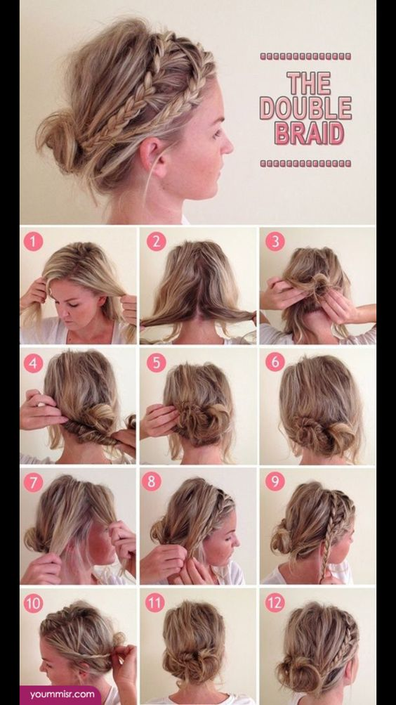 Awe Inspiring Easy Hairstyles Hair And Hairstyles On Pinterest Short Hairstyles Gunalazisus