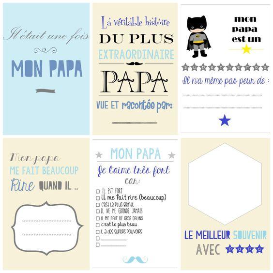 Book papa Moma le blog pour la fête des pères