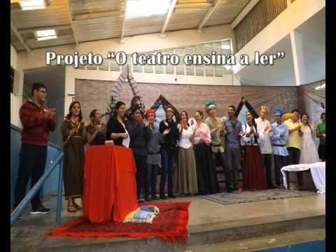 Sala de Leitura - Diretoria de Ensino de Registro - Município de Sete Barras - Escola Maria Santana de Almeida Professora.