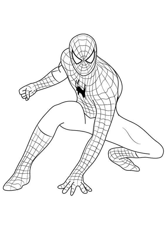 Eshrat52 I Will Do Original Coloring Page Kids For 5 On Fiverr Com Spiderman Artwork Spiderman Drawing Spiderman Art Sketch