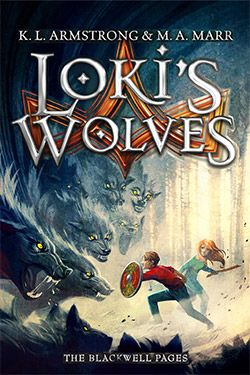 Mr10 is currently reading this and LOVING it. Loki's Wolves