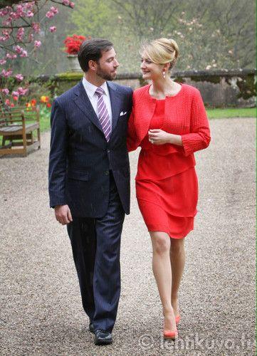 Guillaume e Stephanie: Fotos oficiais - A realeza