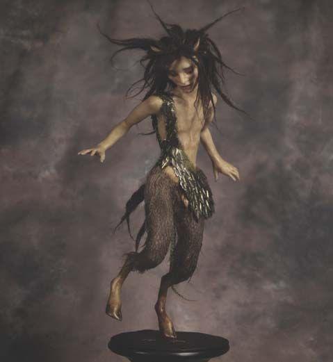 Dancing Satyr by Wendy Froud