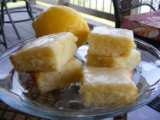 The Taylor House Lemon Brownies