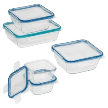 Snapware 10 Pc Glass Meal Prep Set Food Storage Set Food Storage Container Set Snapware