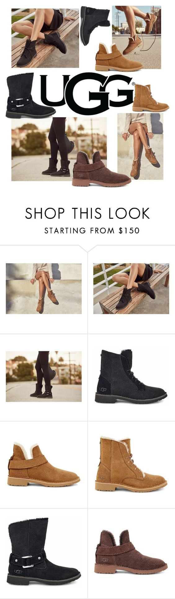 """""""The New Classics With UGG: Contest Entry"""" by loveiscolorblind ❤ liked on Polyvore featuring UGG and ugg"""