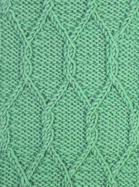 Knitting Stitches Twisted : Knitting stitches, Its you and Knitting on Pinterest