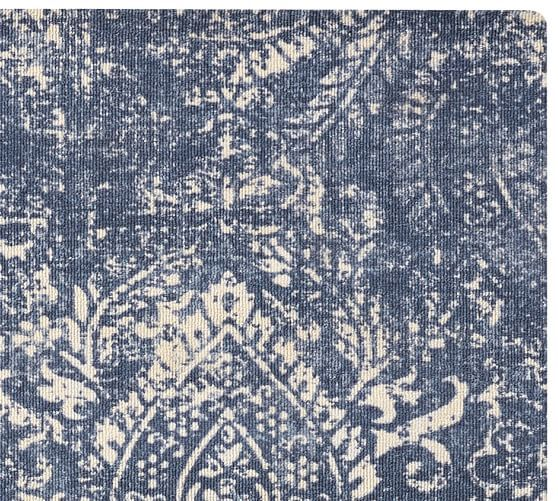 Easy Care Shilah Synthetic Rug Blue Synthetic Rugs Natural