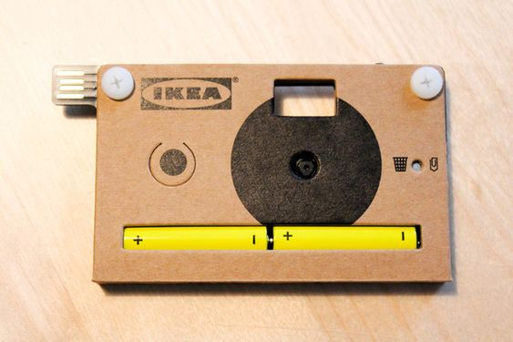 Ikea's new digital cardboard camera (yes it does really work!)