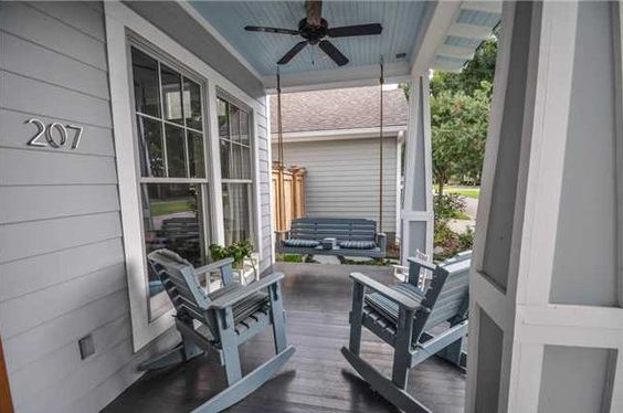 Great place for porch sitting  - Olde Towne at Millcreek