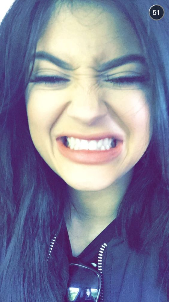 Kylie on Snapchat