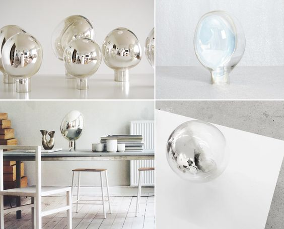 Table Mirrors by Simon Klenell,  via http://www.scandinavianlovesong.com/