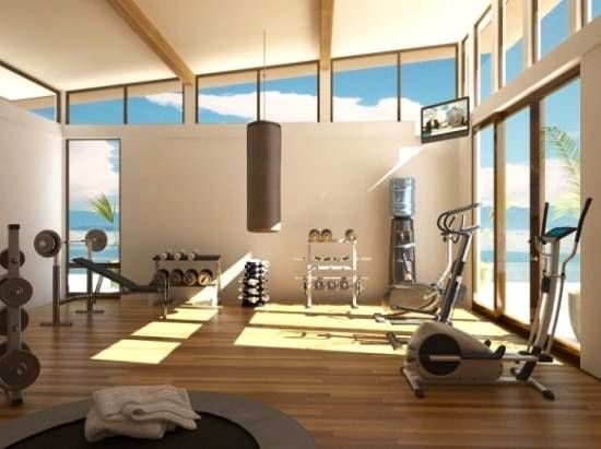 Beautiful! Work Out Room.