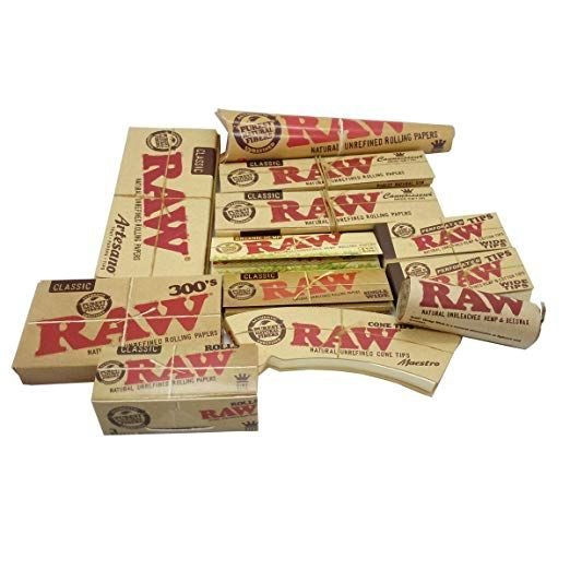 Raw Gift Kit Pack Of 12 Product Package Quantity 2 Raw Perforated Wide Tips 1 Raw Cone Tips Maestro 1 Raw Hemp Wick 1 Raw C Gift Kit Rolling Paper Gifts