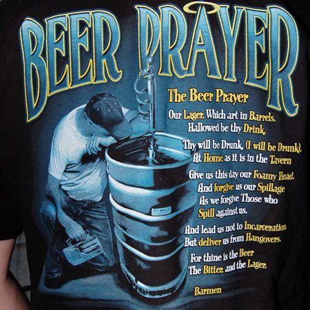 Zombie Prayer | Beer Prayer Drinking T-Shirt