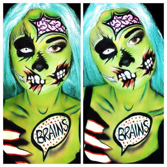 Zombies eat brains.