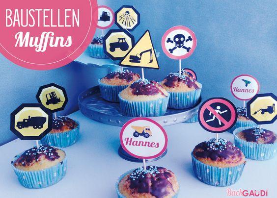 Baustellen-Muffins – BackGAUDI