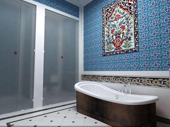 Ottoman empire traditional home design decoration port Empire bathrooms