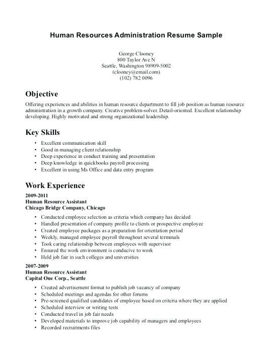 Resume Examples With No Experience Examples Experience Resume Resumeexamples Job Resume Examples Human Resources Resume Hr Resume