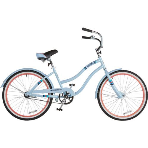 Ozone 500 Girls Malibu 24 In Cruiser Bicycle Purple Light Girl S Bikes At Academy Sports Cruiser Bicycle Bicycle Urban Bicycle