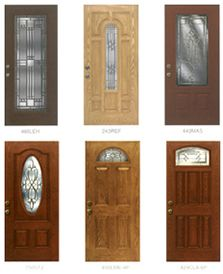Front doors entry door with sidelights and doors on pinterest - Paint or stain fiberglass exterior doors concept ...