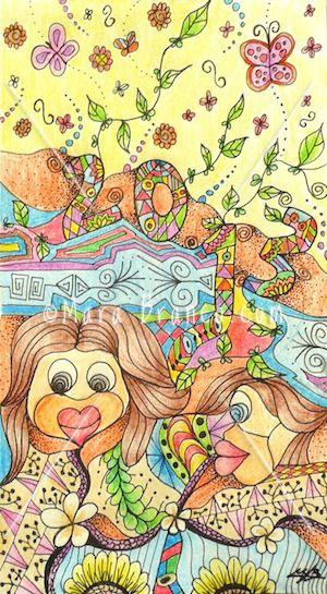 Art Journal by Mara Branco