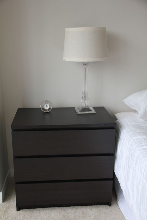 Diy a campaign dresser using our existing malm 6 drawer for Malm kommode weiay