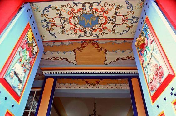 Portal Principal da Igreja Matriz de Passa Tempo - MG - Brasil