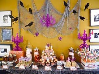 Halloween is coming!! Halloween dessert buffet