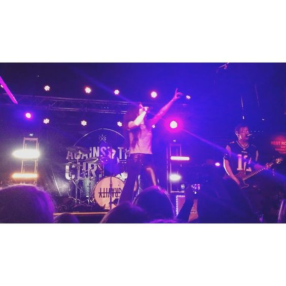 Against the Current performed on Saturday at Brighton Music Hall