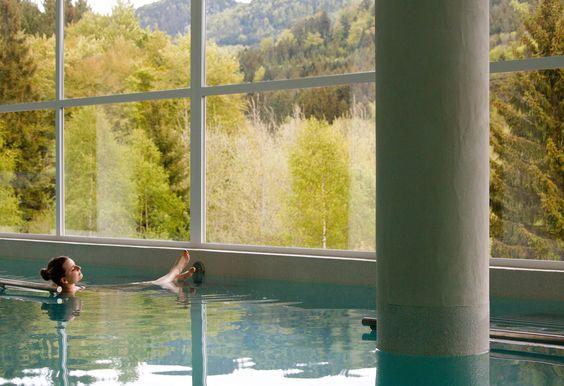 Bassin intérieur Nature-Spa - La Cheneaudière © Jérôme Mondière   #spa #piscine #relaxation #bienetre #sante  www.marysemasse.com