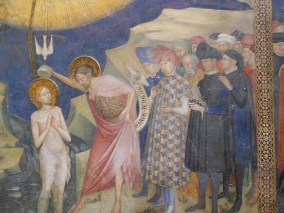 Росписи оратория Иоанна Крестителя в Урбино, 1416 г.