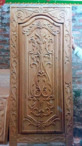 Printed Flower Door Stylish Door Real Wooden Doors Interior Front Door Design Wood Stylish Doors