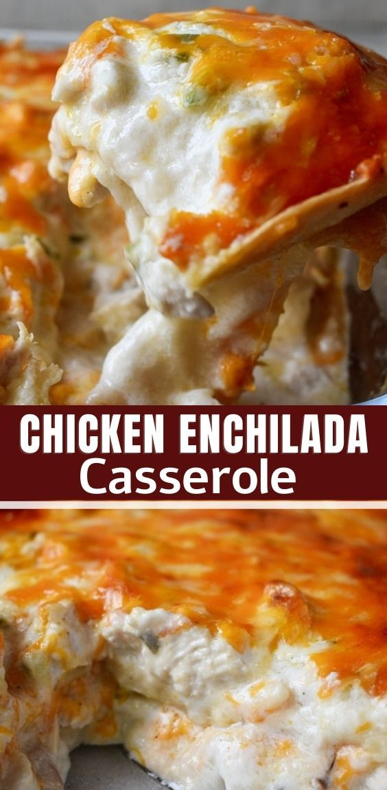 Sour Cream Chicken Enchilada Casserole In 2020 Mexican Food Recipes Easy Casserole Recipes Recipes