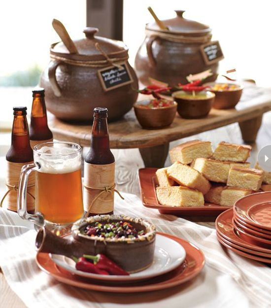 10 Dinner Party Themes: Love the craft beer tasting idea for a guy's birthday.