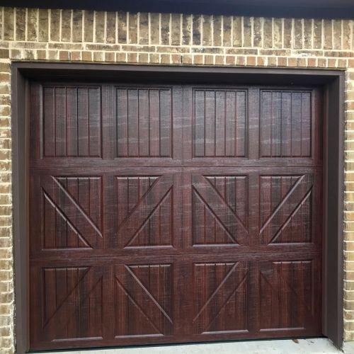 At Complete Overhead Door Inc We Install Best Quality Garage Door Opener In Allen And Wylie Garage Door Installation Door Installation Commercial Steel Door
