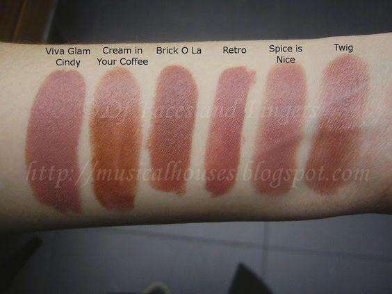mac brown lipstick sha...