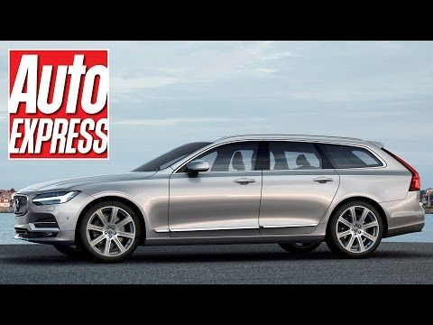New 2016 Volvo V90: sleek new estate officially unwrapped   Auto Express