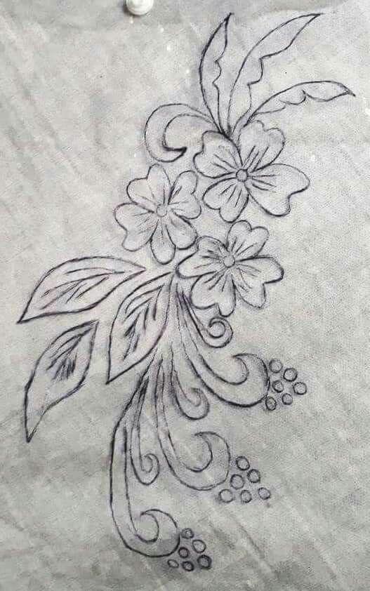 Very Nice Digens Desenhos Bordados A Mao Desenhos De Flores