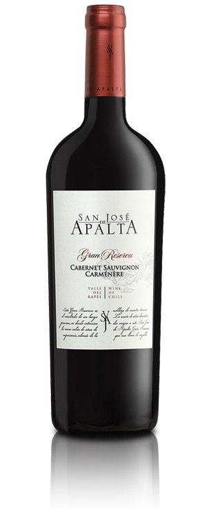 Vino cabernet sauvignon carmenere gran reserva marca san for Suelo pedregoso