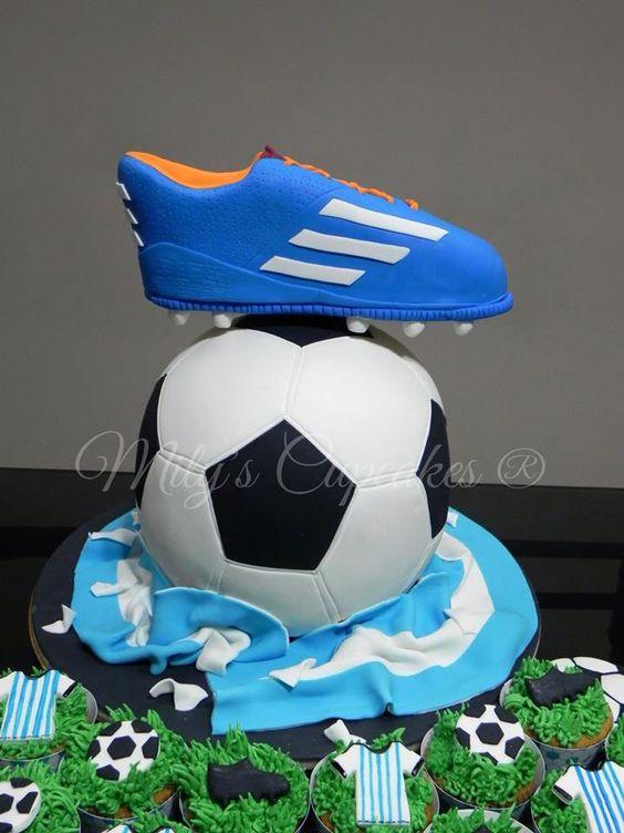 Fútbol cake 3D