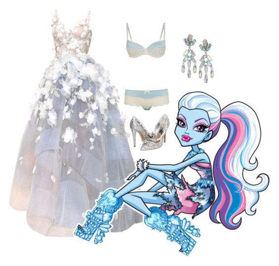 """""""ABBEY BOMINABLE // MONSTER BALL"""" by girlwithagun ❤ liked on Polyvore featuring art"""