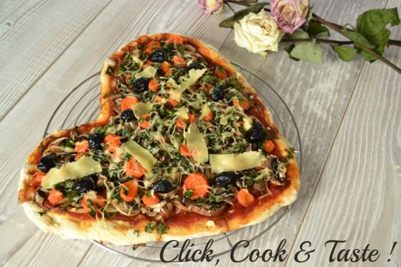 Pizza aux légumes hivernaux – Click, Cook & Taste !