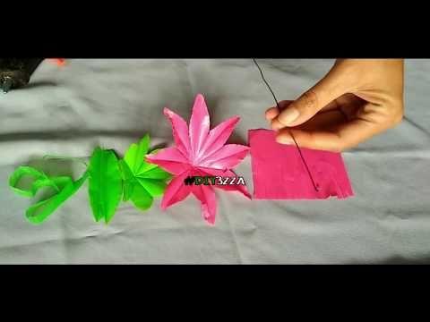 Bunga Sepatu Dari Plastik Bekas Youtube Dengan Gambar Bunga