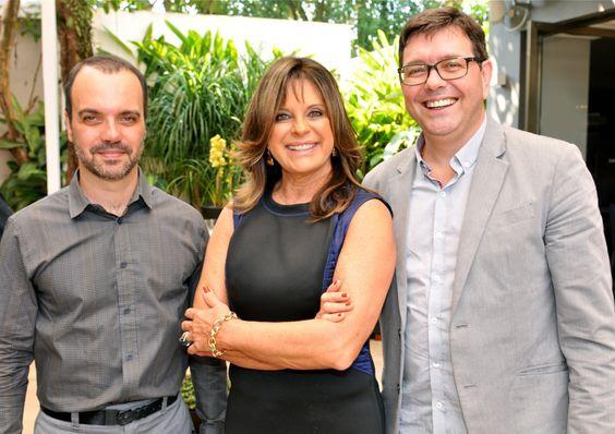 André Bastos, Jóia Bérgamo e Hélio Vanelli