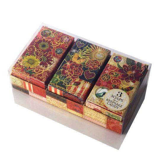 Caixa 3 Sabonetes Summer Floral - iBacana