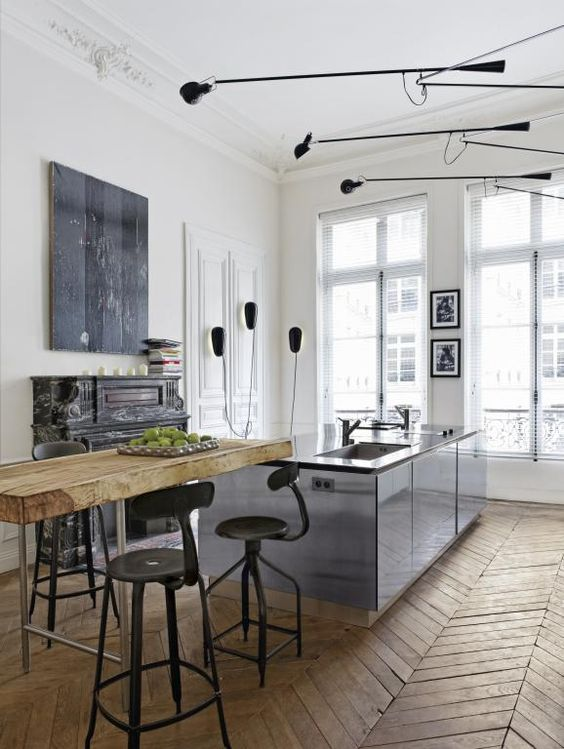 Altbauwohnung in Paris   Architektur und Wohnen