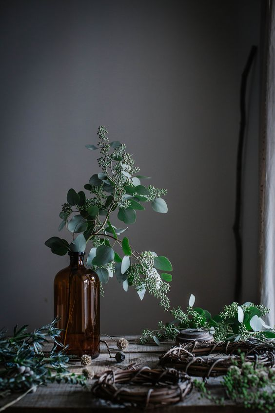 Local Milk | merry & bright | gingerbread sorghum cake + diy wreaths & muslin wrapping: